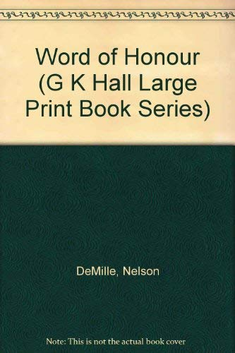 9780816140824: Word of Honor (G K Hall Large Print Book Series)