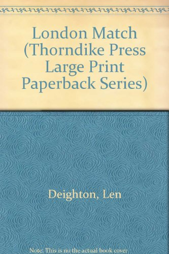 9780816141067: London Match (Thorndike Press Large Print Paperback Series)