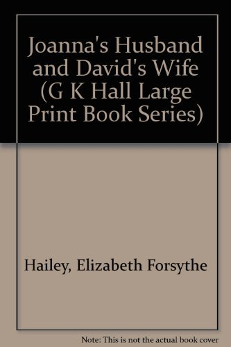 9780816141319: Joanna's Husband, and David's Wife (G K Hall Large Print Book Series)