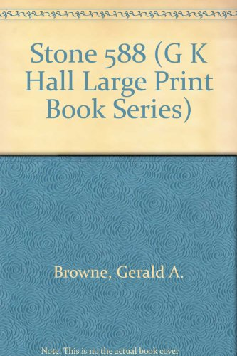 9780816141395 Stone 588 G K Hall Large Print Book Series