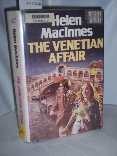 9780816141500: The Venetian Affair (G K Hall Large Print Book Series)