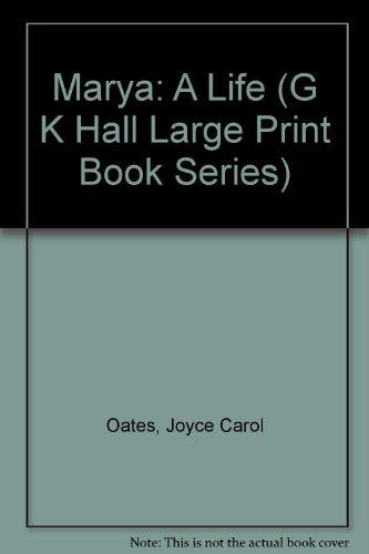 9780816141784: Marya: A Life (G K Hall Large Print Book Series)