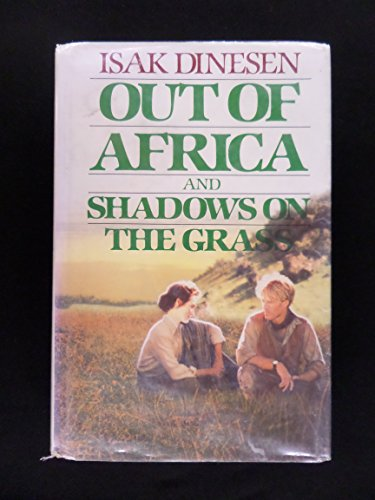 9780816141814: Out of Africa and Shadows on the Grass (G K Hall Large Print Book Series)