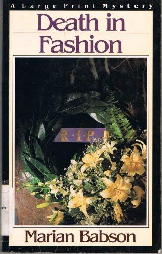 9780816142149: Death in Fashion (G.K. Hall large print book series)