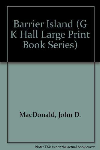 9780816142620: Barrier Island (G K Hall Large Print Book Series)