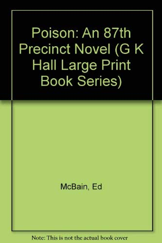 9780816142996: Poison (G K Hall Large Print Book Series)
