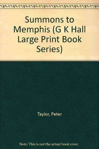 9780816143054: Summons to Memphis (G K Hall Large Print Book Series)