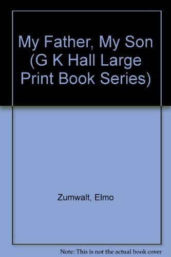 9780816143078: My Father, My Son (G K Hall Large Print Book Series)