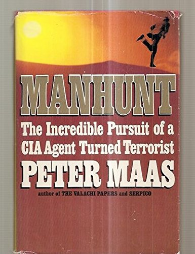 9780816143245: Manhunt (G.K. Hall large print book series)