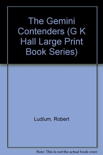 9780816144471: The Gemini Contenders (G K Hall Large Print Book Series)