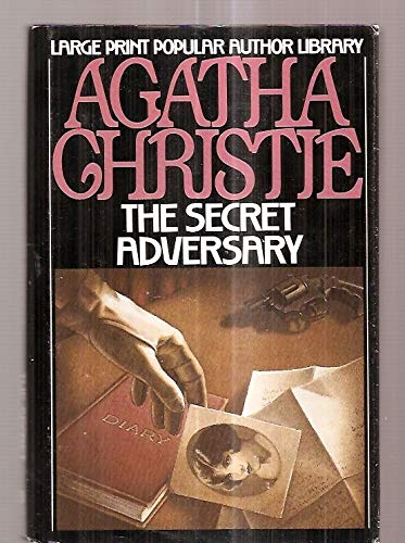 The Secret Adversary (G. K. Hall's Agatha Christie Series) (0816144648) by Agatha Christie