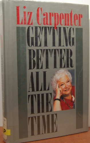 9780816144969: Getting Better All the Time (G K Hall Large Print Book Series)