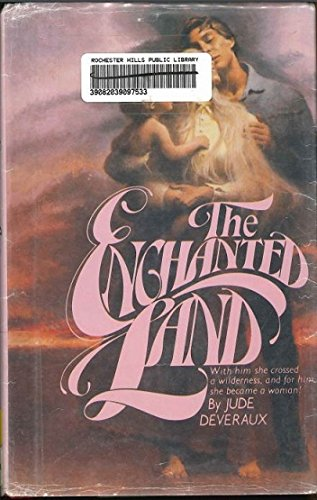 9780816145188: The Enchanted Land (G K Hall Large Print Book Series)