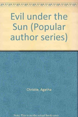 9780816145492: Evil Under the Sun (G. K. Hall's Agatha Christie Series)