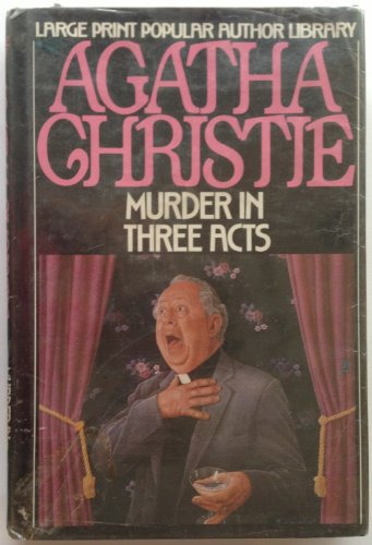 9780816145690: Murder in Three Acts (G. K. Hall's Agatha Christie Series)