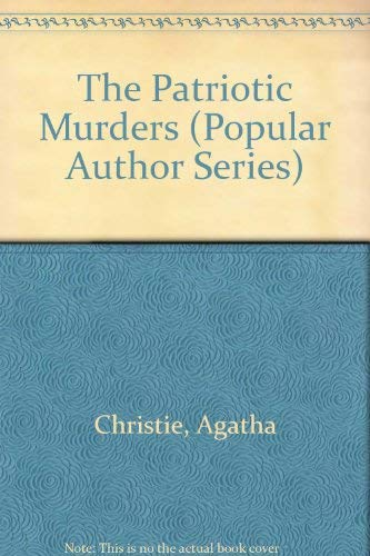 9780816145850: The Patriotic Murders (G. K. Hall's Agatha Christie Series)