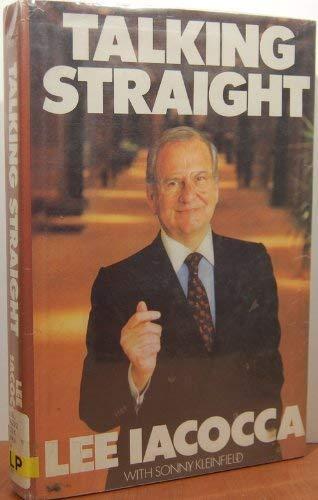 9780816147106: Talking Straight (G K Hall Large Print Book Series)
