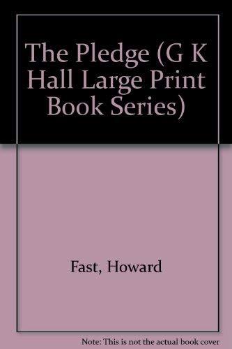 9780816147298: The Pledge (G K Hall Large Print Book Series)