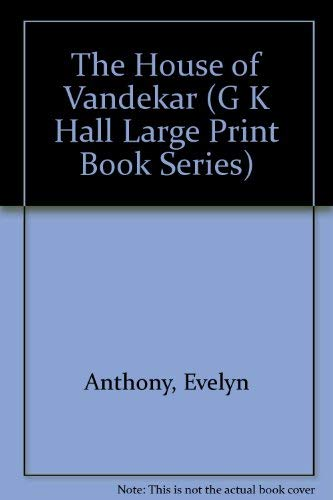 9780816147618: The House of Vandekar