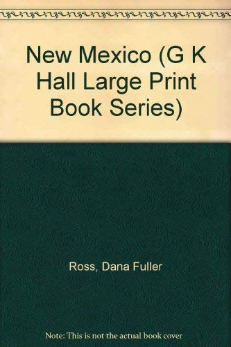 9780816147717: New Mexico (G.K. HALL LARGE PRINT BOOK SERIES)