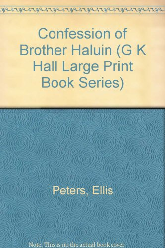 9780816148592: Confession of Brother Haluin (G K Hall Large Print Book Series)