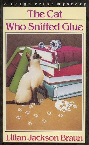 9780816148646: The Cat Who Sniffed Glue (G.K. Hall Large Print Book Series)