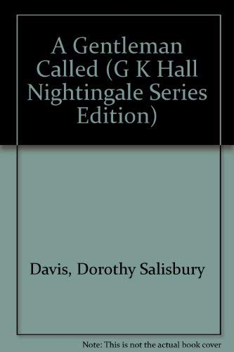 9780816149087: A Gentleman Called (G K Hall Nightingale Series Edition)