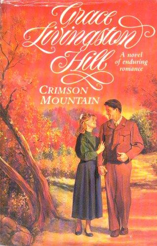 9780816149100: Crimson Mountain (G K Hall Large Print Book Series)
