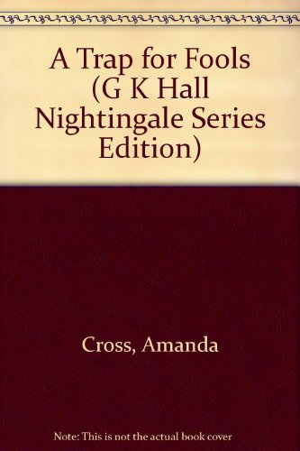 9780816149353: A Trap for Fools (G. K. Hall Nightingale Series Edition)