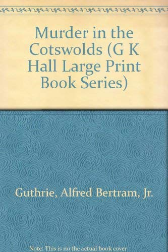 9780816149773: Murder in the Cotswolds (G K Hall Large Print Book Series)