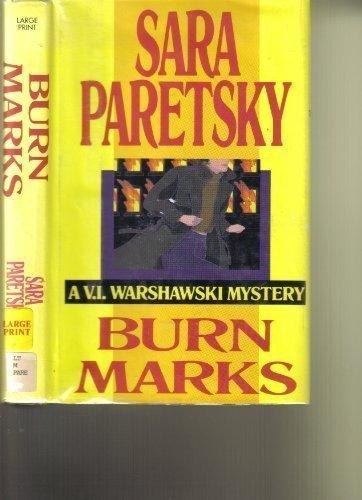 9780816150045: Burn Marks (G K Hall Large Print Book Series)