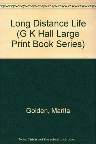 9780816150052: Long Distance Life (G K Hall Large Print Book Series)