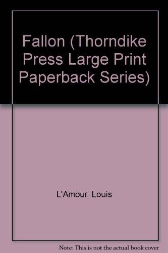 9780816150502: Fallon (Thorndike Press Large Print Paperback Series)