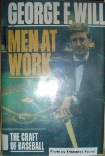 9780816151509: Men at Work: The Craft of Baseball (G K Hall Large Print Book Series)