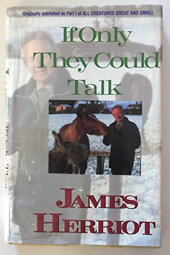 9780816151622: If Only They Could Talk (G K Hall Large Print Book Series)