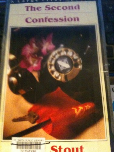 9780816152025: The Second Confession: A Nero Wolfe Mystery