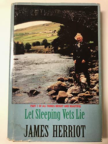 9780816152179: Let Sleeping Vets Lie (G K Hall Large Print Book Series)