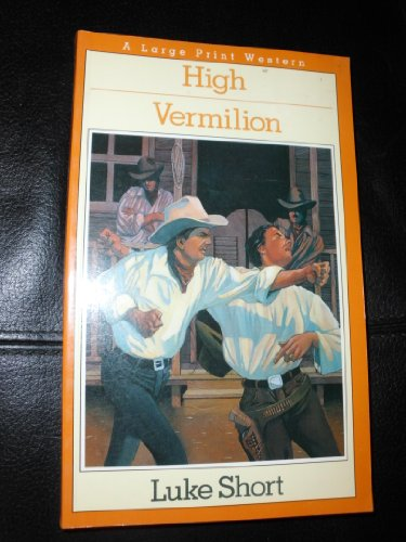 9780816152636: High Vermilion (Thorndike Press Large Print Paperback Series)