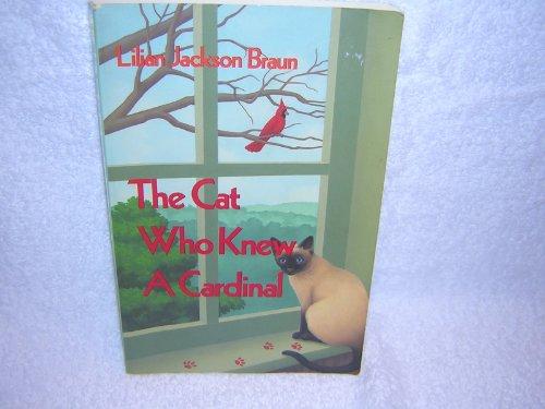 The Cat Who Knew a Cardinal (Thorndike Press Large Print Paperback Series): Braun, Lilian Jackson