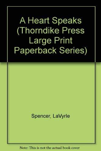9780816152988: A Heart Speaks (Thorndike Press Large Print Paperback Series)