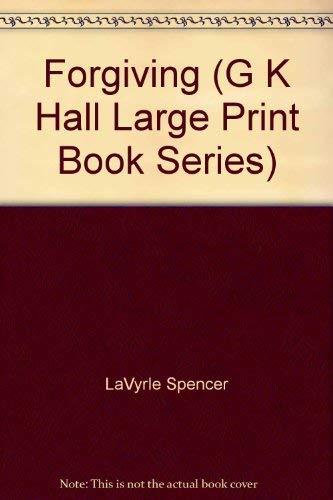 9780816153060: Forgiving (G K Hall Large Print Book Series)