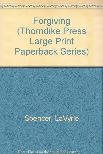 9780816153077: Forgiving (Thorndike Press Large Print Paperback Series)