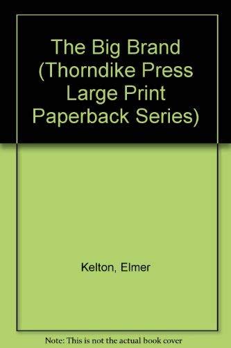 9780816153213: The Big Brand (Thorndike Press Large Print Paperback Series)