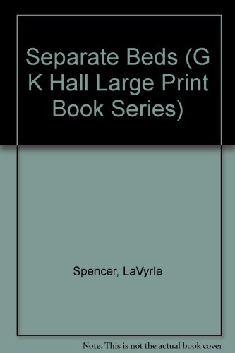 9780816153268: Separate Beds (G K Hall Large Print Book Series)
