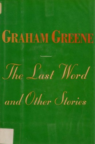 9780816153282: The Last Word and Other Stories (G K Hall Large Print Book Series)
