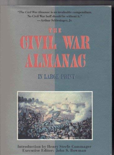 9780816153398: The Civil War Almanac (G K Hall Large Print Book Series)