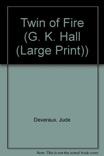 9780816153404: Twin of Fire (G. K. Hall (Large Print))