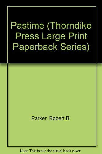 9780816153480: Pastime (Thorndike Press Large Print Paperback Series)