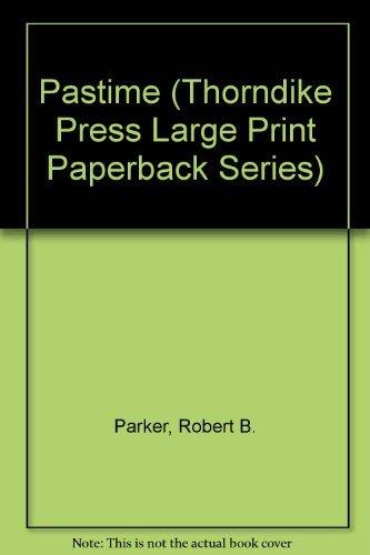 9780816153480: Pastime (GK Hall Large Print Book Series)
