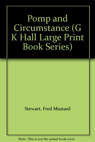9780816153732: Pomp and Circumstance (G K Hall Large Print Book Series)